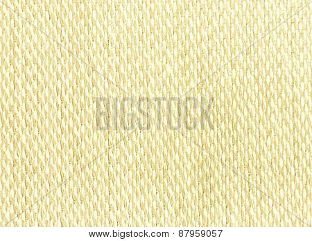 Light Brown Thai Bamboo Mat With Empty Space Background