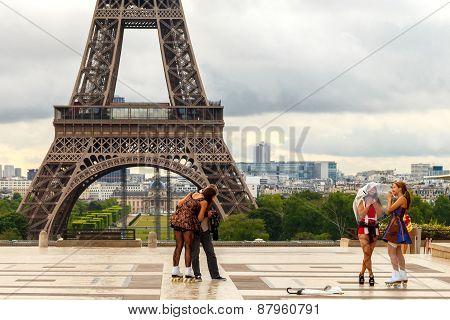Paris.  Palais De Chaillot.