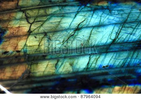 Labradorite Mineral Background