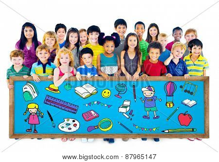 Kids School Education Toys Stuff Young Concept