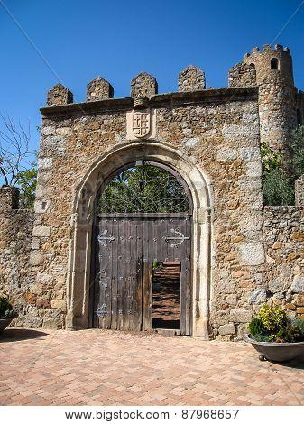 Coracera Castle, San Martin De Valdeglesias, Avila, Castilla Y Leon, Spain