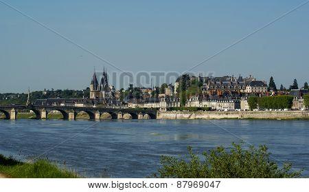 Blois, Casteles Of The Loire, France