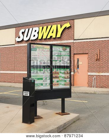 Subway Drive-through