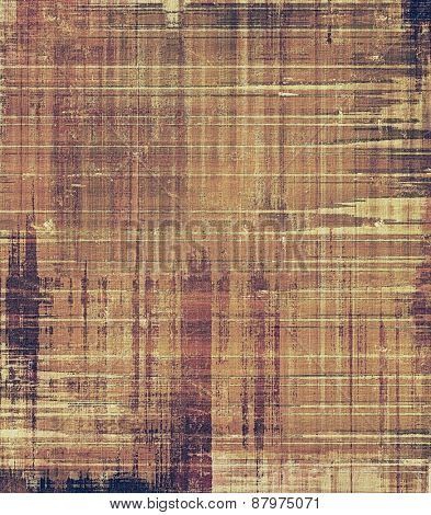 Colorful designed grunge background. With different color patterns: purple (violet); yellow (beige); brown