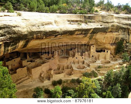 Cliff Palace in Mesa Verde National Park (Colorado, USA)