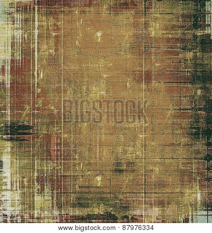 Ancient grunge background texture. With different color patterns: yellow (beige); brown; gray; black