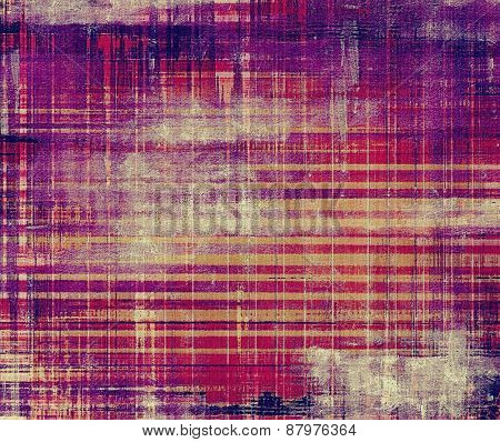 Old texture or antique background. With different color patterns: purple (violet); yellow (beige); pink