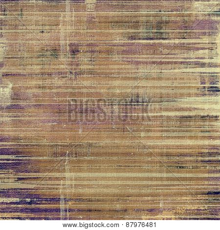 Antique vintage background. With different color patterns: purple (violet); yellow (beige); brown; gray