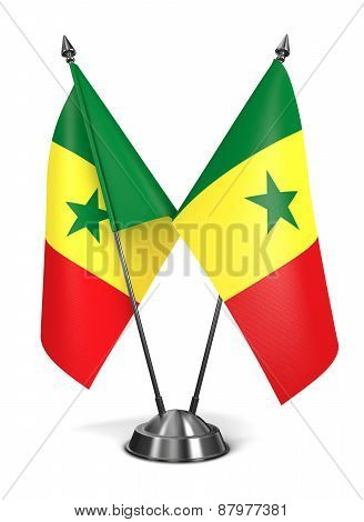 Senegal - Miniature Flags.