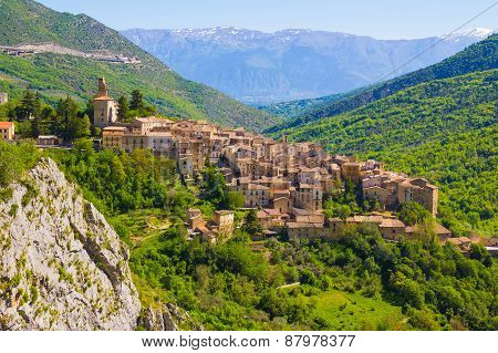 Abruzzo Traditional Medieval Villages, Italy