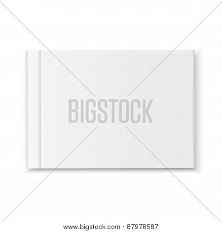 Cover blank book album
