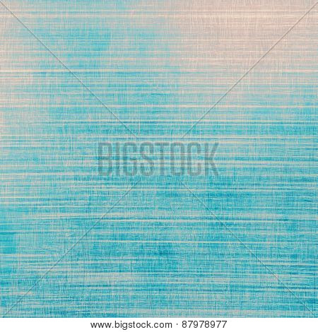 Antique vintage background. With different color patterns: blue; cyan; gray