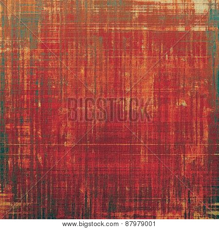 Grunge retro vintage textured background. With different color patterns: red (orange); brown; pink