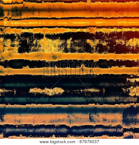Grunge texture. With different color patterns: purple (violet); blue; yellow (beige); red (orange)