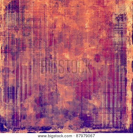 Grunge colorful background or old texture for creative design work. With different color patterns: purple (violet); red (orange); pink