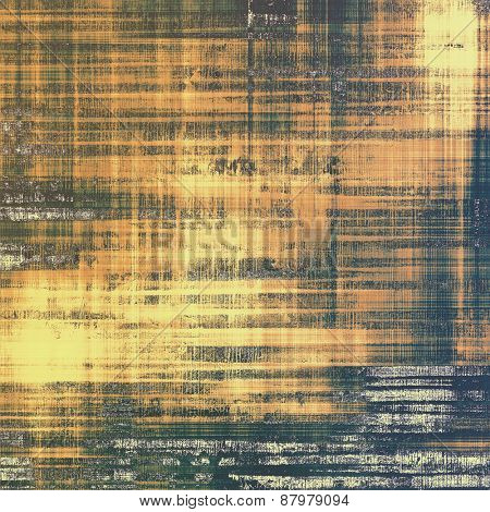 Antique vintage texture or background. With different color patterns: yellow (beige); brown; black