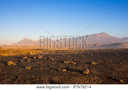 The Coast Of Lanzarote