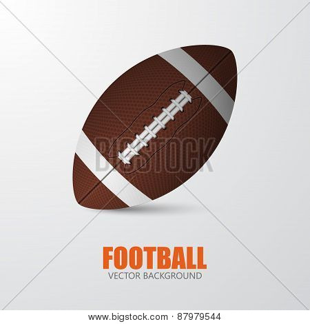 Football. Vector Background
