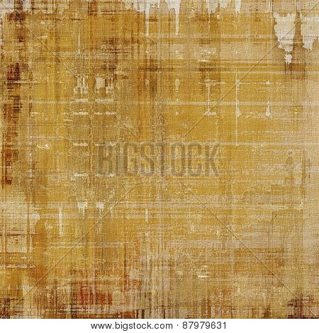 Retro background with grunge texture. With different color patterns: yellow (beige); brown; gray