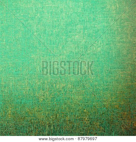 Grunge texture. With different color patterns: yellow (beige); cyan; green