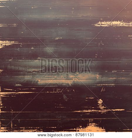 Old, grunge background texture. With different color patterns: brown; gray; black