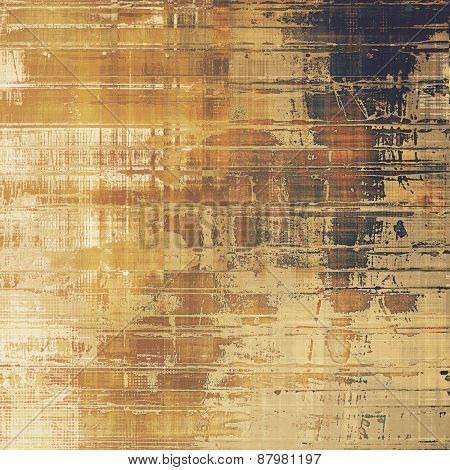 Grunge texture. With different color patterns: yellow (beige); brown; gray; black