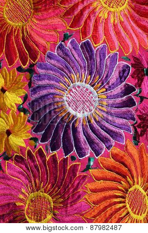 Traditional Handmade Mexican Fabric