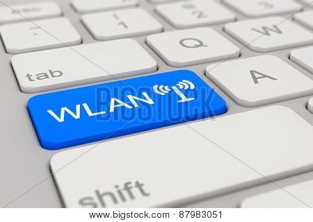 Keyboard - Wlan - Blue