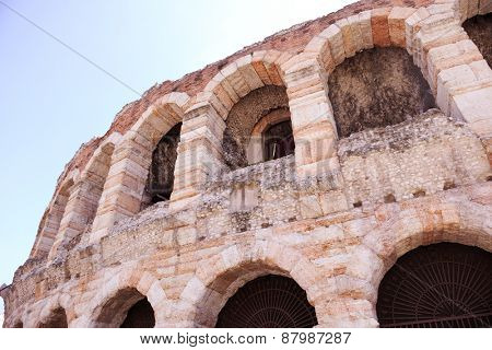 ancient italian city verona