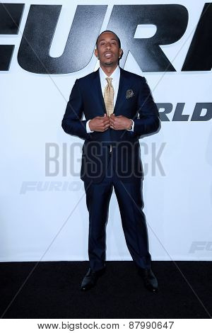 LOS ANGELES - FEB 1:  Lucacris, aka Chris Bridges at the