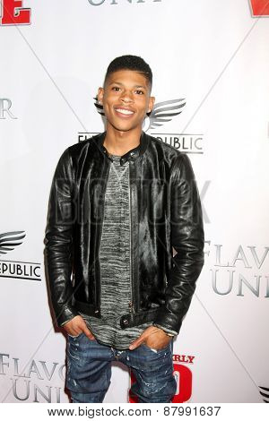 LOS ANGELES - FEB 13:  Bryshere Y Gray at the