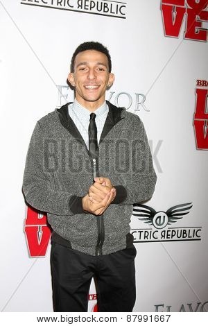 LOS ANGELES - FEB 13:  Khleo Thomas at the