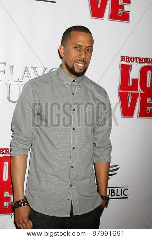 LOS ANGELES - FEB 13:  Affion Crockett at the