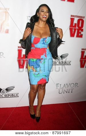 LOS ANGELES - FEB 13:  Malaysia Pargo at the