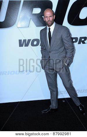 LOS ANGELES - FEB 1:  Jason Statham at the