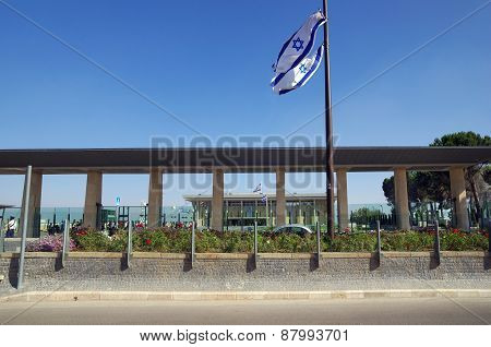 Entrance To The Knesset, Jerusalem