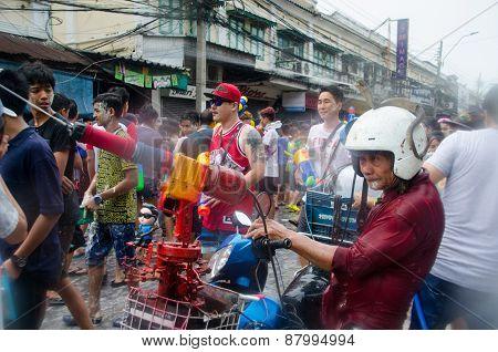 Songkran Snake Man