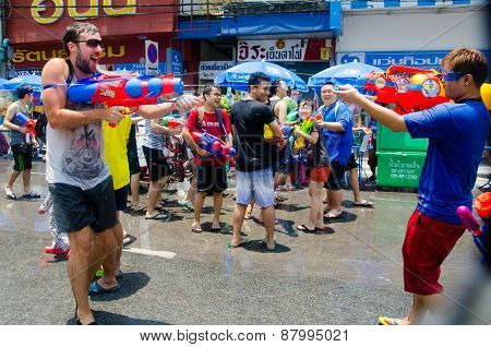 Water Gun Shootout