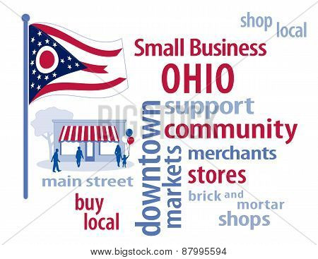 Ohio Flag, Small Business