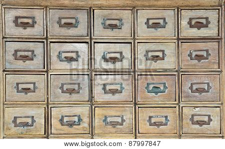 old chest of drawers background