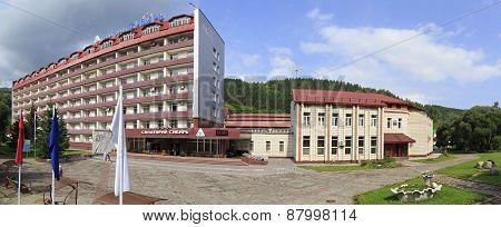 Sanatorium Siberia in the resort Belokuriha.