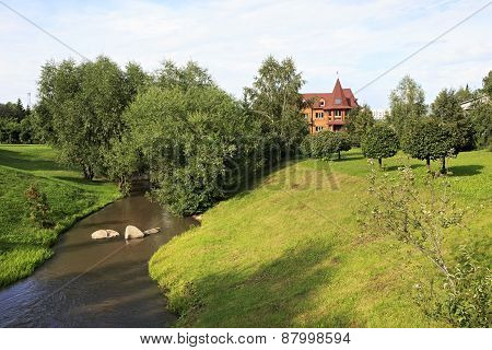 River Belokuriha in health resort of the same name.