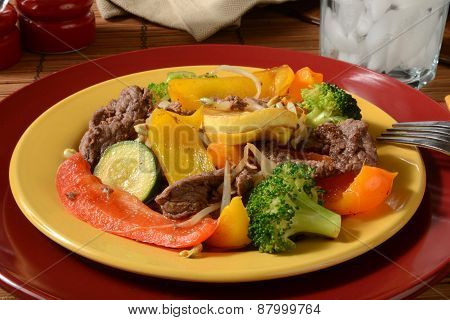 Healthy Beef Stir Fry