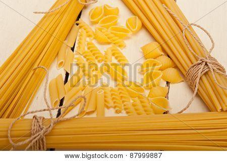 Bunch Of Italian Pasta Type