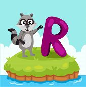 picture of raccoon  - Illustrator of Letter  - JPG