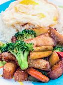 picture of stir fry  - Pork stir - JPG