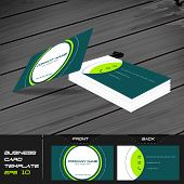 pic of visitation  - Business card or visiting card template - JPG