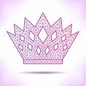 picture of interpreter  - Geometric crown - JPG