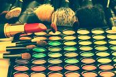 pic of lipstick  - Makeup cosmetics collection consists of lipstick - JPG