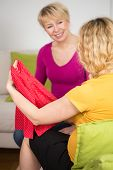 pic of child-birth  - Preparing for child birth at home vertical - JPG